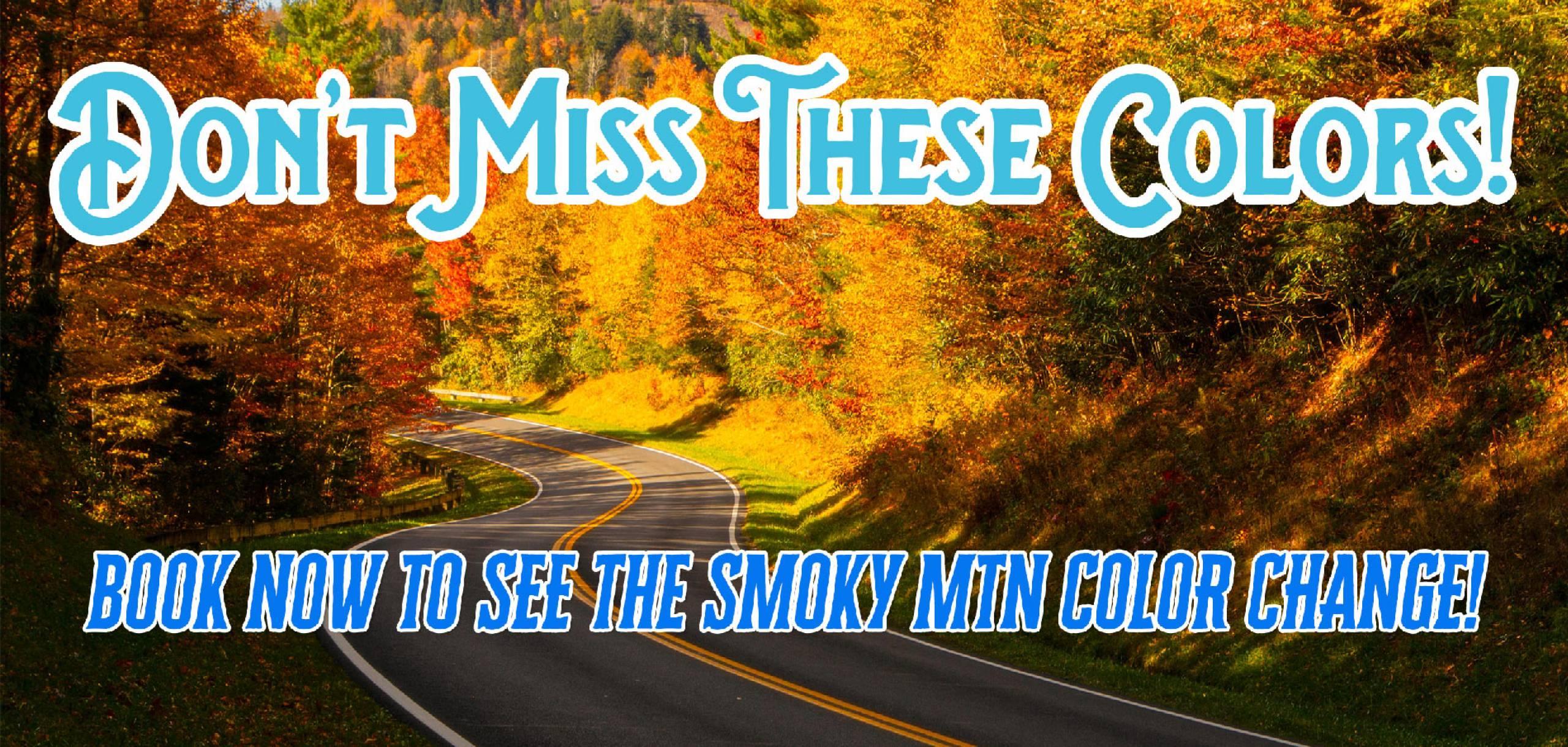 Smoky Mountain Fall Color change